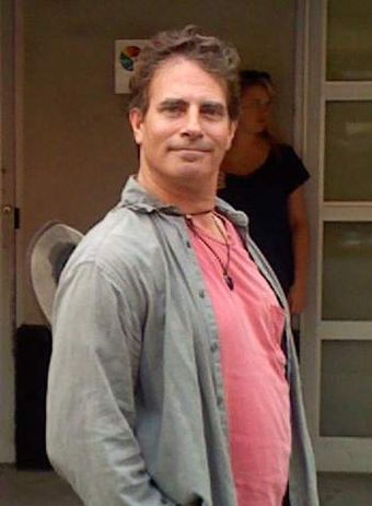 Animation director David Silverman, who helped define the look of the show David Silverman in 2007-cropped.JPG