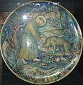 David Zipiroc, piatto con San Francesco e il lupo.jpg