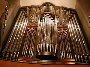 Francis Winspear Centre for Music - Image: Davis Concert Organ