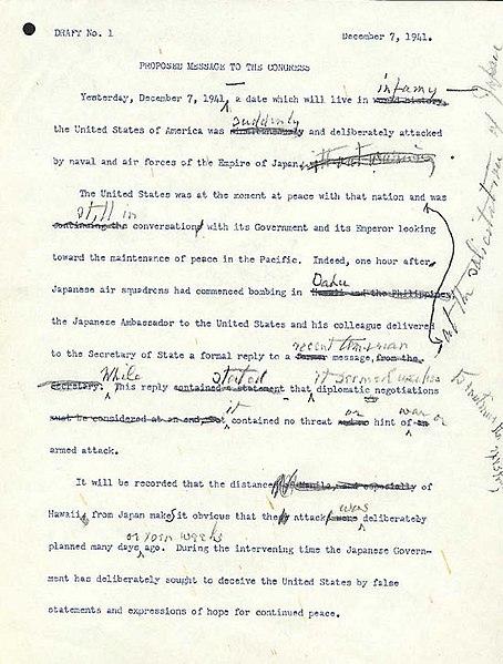 Quizz bateaux et histoire navale - Page 22 454px-Day-of-infamy-draft1-page1