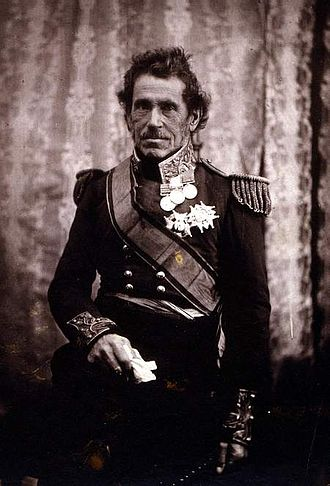 De Lacy Evans - Evans photographed in 1855