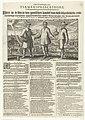 De drie hoofdrolspelers in de samenzwering tegen Maurits, 1623 Clare Af-beeldinghe, ende T'Samen-Spreeckinghe, Tusschen een Boer, genaemt Kees, ende syn Land-heer. Waer in te sien is den gantschen handel van dese schric, RP-P-OB-81.018A.jpg