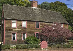 Deane Winthrop house, Winthrop MA 34 Shirley St. 1675