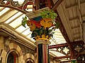 Decorated capital, Great Malvern Station - geograph.org.uk - 968810.jpg
