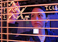 Defense.gov News Photo 100921-N-9950J-163 - U.S. Navy Airman Chelsea Pitchford updates information on an aircraft status board in the amphibious air traffic control center aboard the.jpg