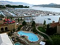 Delta Grand Hotel looking over Marina and Okanagan Lake - panoramio.jpg