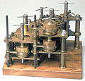 Demonstration model of Babbage's Difference Engine No 1, 19th century. (9660573663).jpg