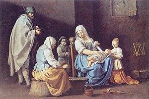 Giuseppe Gambarini - The Winter at Pinacoteca of Bologna