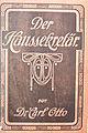 Der Haussekretär Hrsg Carl Otto Berlin ca 1900 Einband 1.jpg