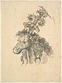 Design for the Headdress of a Horse Crowned by a Small Lizard MET DP823546.jpg