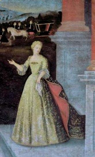 Joanna, Princess of Portugal - Image: Despedida da Infanta D. Joana de D. Afonso V e D. João II