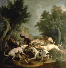 Wolf hunting with dogs - Wikipedia, the free encyclopedia