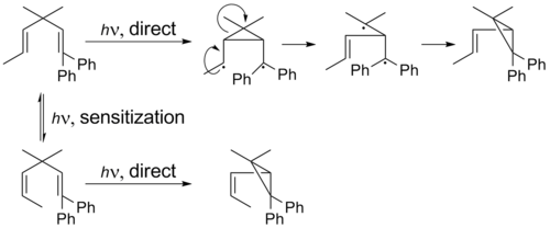 Di-p-methane rearrangement regioselectivity.png