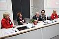 Die Bundesversammlung hat Gauck zum Prsädienten gewählt, Beate Klarsfeld erhielt 126 Stimmen - drei mehr, als DIE LINKE Mandate hatte (6995914459).jpg