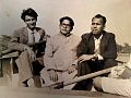 Dinesh Bhramar with Nazir Banarsi and Bholanath Bimb.jpg