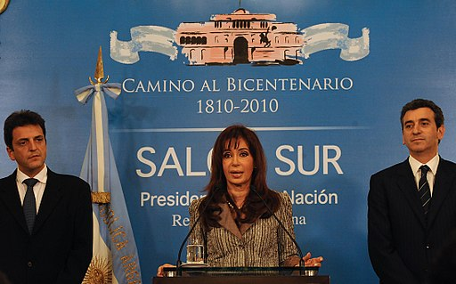 Discurso post electoral de CFK