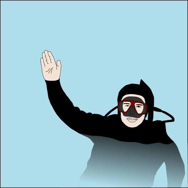 Scuba diving signals