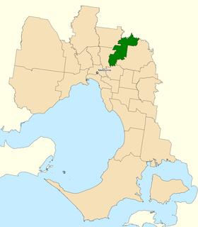 Division of Jagajaga Australian federal electoral division