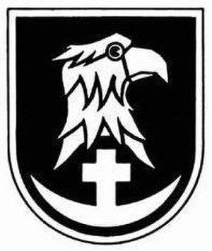 102nd Infantry Division (Wehrmacht) - Image: Divisionszeichen der 102. ID