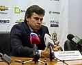 Dmitri Kvartalnov 2011-10-16 Amur—Severstal KHL-game.jpeg