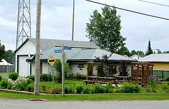 Gauthier, Ontario - Gauthier Community Hall in Dobie