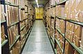 Documents stacks in a repository at The National Archives.jpg