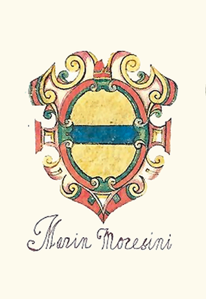 Domenico Morosini - Coat of arms of the Morosini family