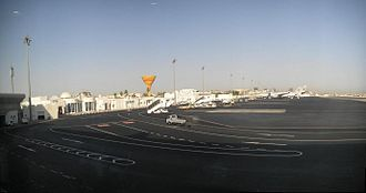Doha International Airport - Ramp overview