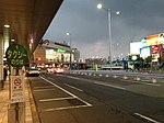 Domestic Terminal of Fukuoka Airport at night 20150102.JPG