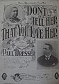 Don't Tell Her That You Love Her, sheet music cover, 1895.jpg