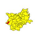 Donja Motičina municipality location.png