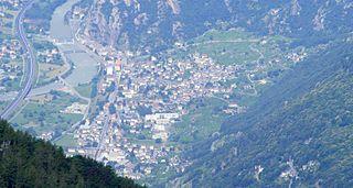 Donnas Comune in Aosta Valley, Italy
