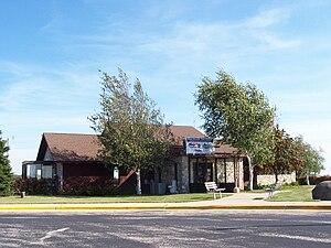 Door County Cherryland Airport - Airport terminal building