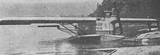 Dornier Delphin - Dornier CS II Delphin photo from L'Aéronautique September 1921