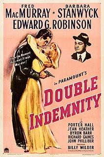 <i>Double Indemnity</i> 1944 film by Billy Wilder