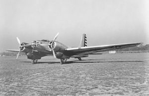Douglas B-23 Dragon - A B-23 Dragon in USAAC markings during the early 1940s