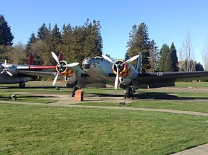 Douglas B-23 Dragon - Douglas B-23 Dragon at JBLM