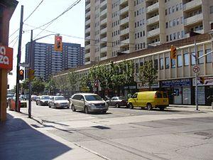 Weston, Toronto - Weston Road at John