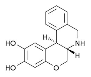 Doxanthrine - Image: Doxanthrine structure