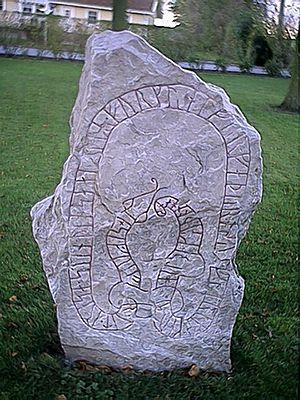 Simris Runestones - DR 345.