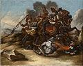 Dresura konja- Napad na konjenika (po Georgu Philippu Rugendasu).jpg