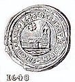 Dronninglund Herreds segl.jpg