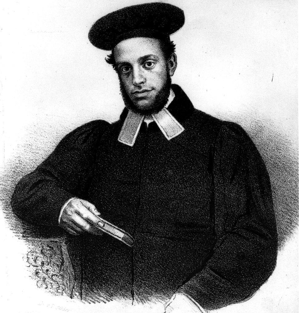 Druck von Schier. Samson Raphael Hirsch.1847