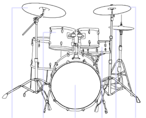 File Drum Kit Illustration Template Png Wikimedia Commons