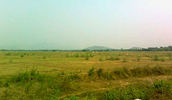 Dry landscape view at Gajapathinagaram.jpg