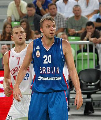 Duško Savanović - Savanović with Serbian national team in 2011