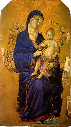 Duccio - Madonna with Child, c. 1300-1305.