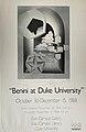 Duke University Commemorative Poster for 1988 Benini Exhibition.jpg