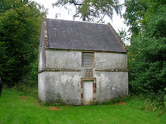 Dumfries House - Old dovecot at Dumfries House. Circa 1720