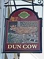 Dun Cow pub sign - geograph.org.uk - 1027345.jpg